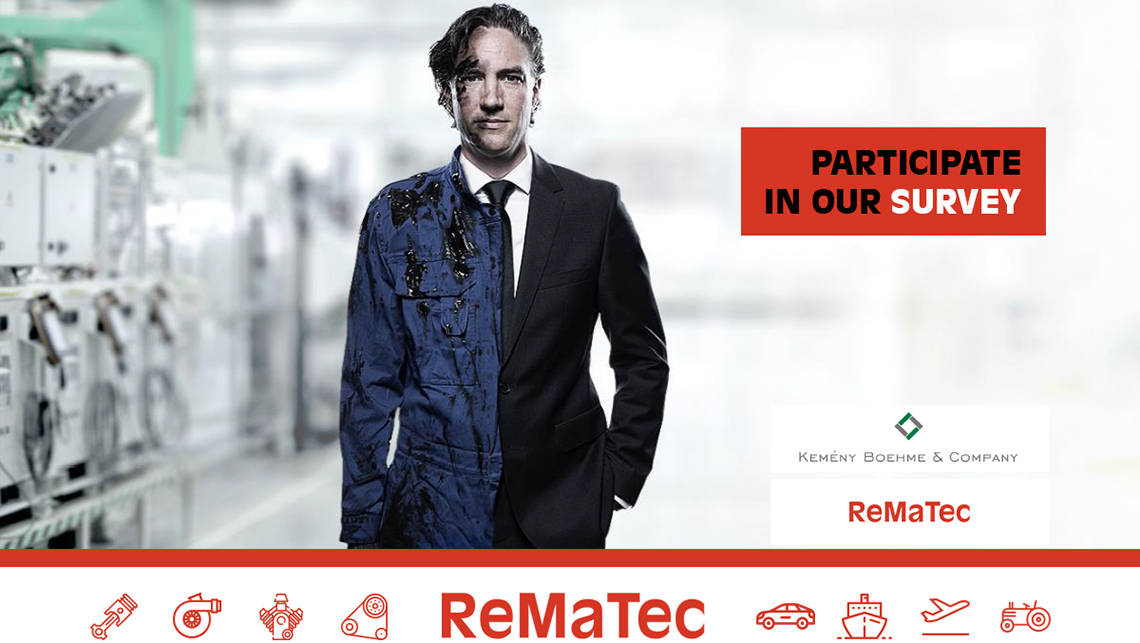 Benchmark your business against the global remanufacturing industry