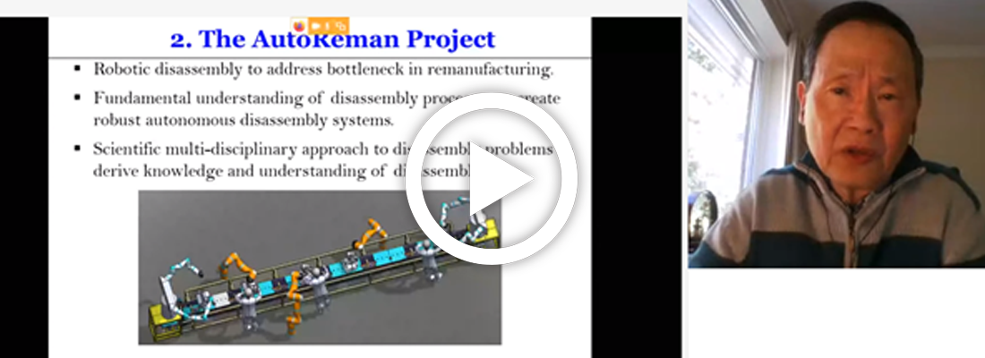 """Play-back video: webinar """"Symposium on Innovation and Automation in Remanufacturing"""""""