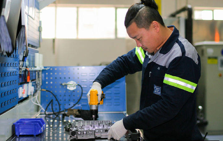 Reman in Shanghai: shaping the process